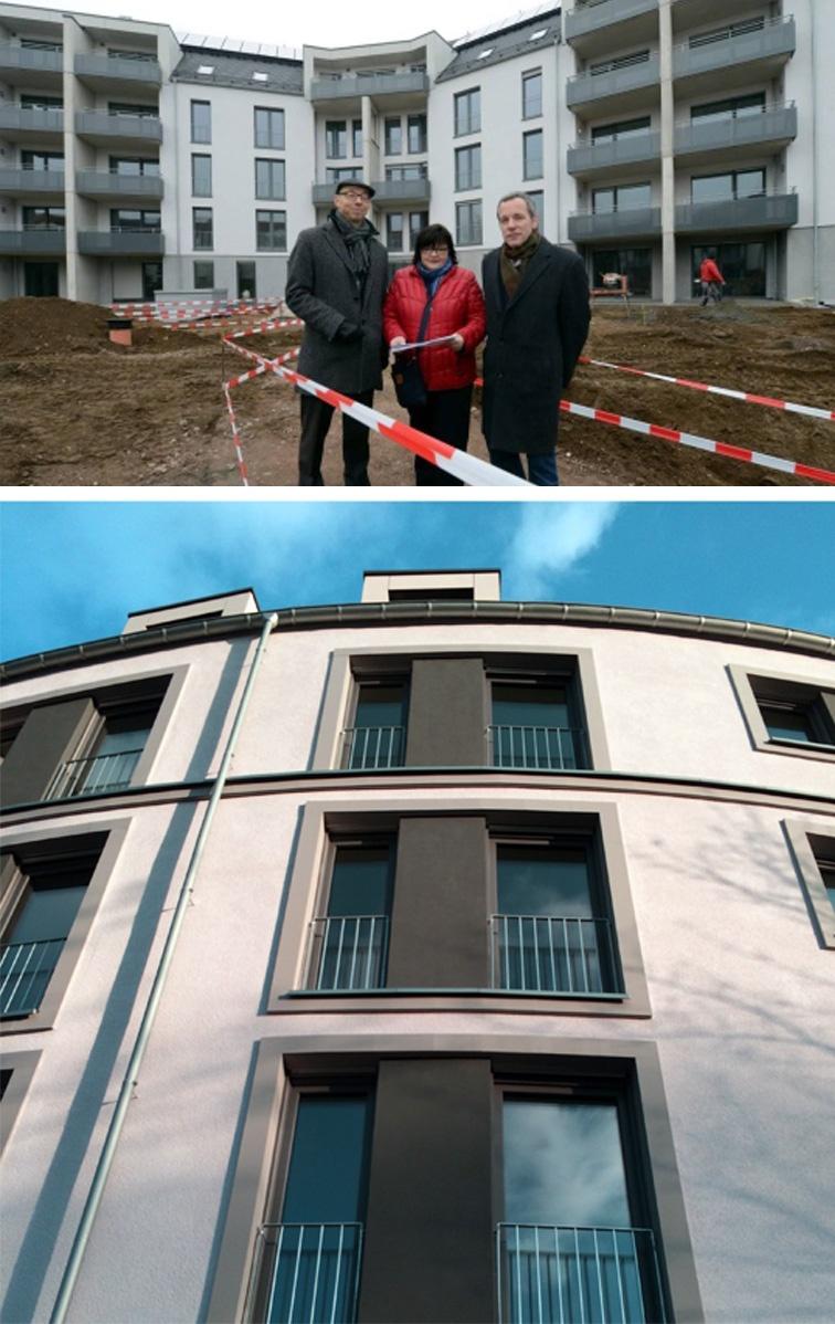 Vorstellung Wohnbebauung Dreherstraße