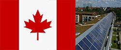 Kanadische Delegation Besichtigt Die Solarsiedlung