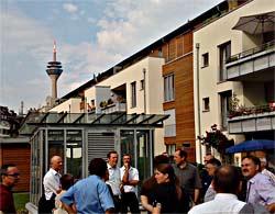 Oberste Baubehörde Bayern Besucht Die Solarsiedlung