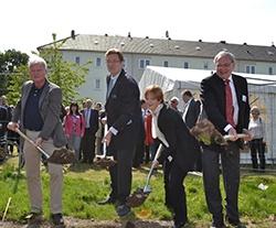 """Spatenstich Für Die Klimaschutzsiedlung """"Am Wald"""""""