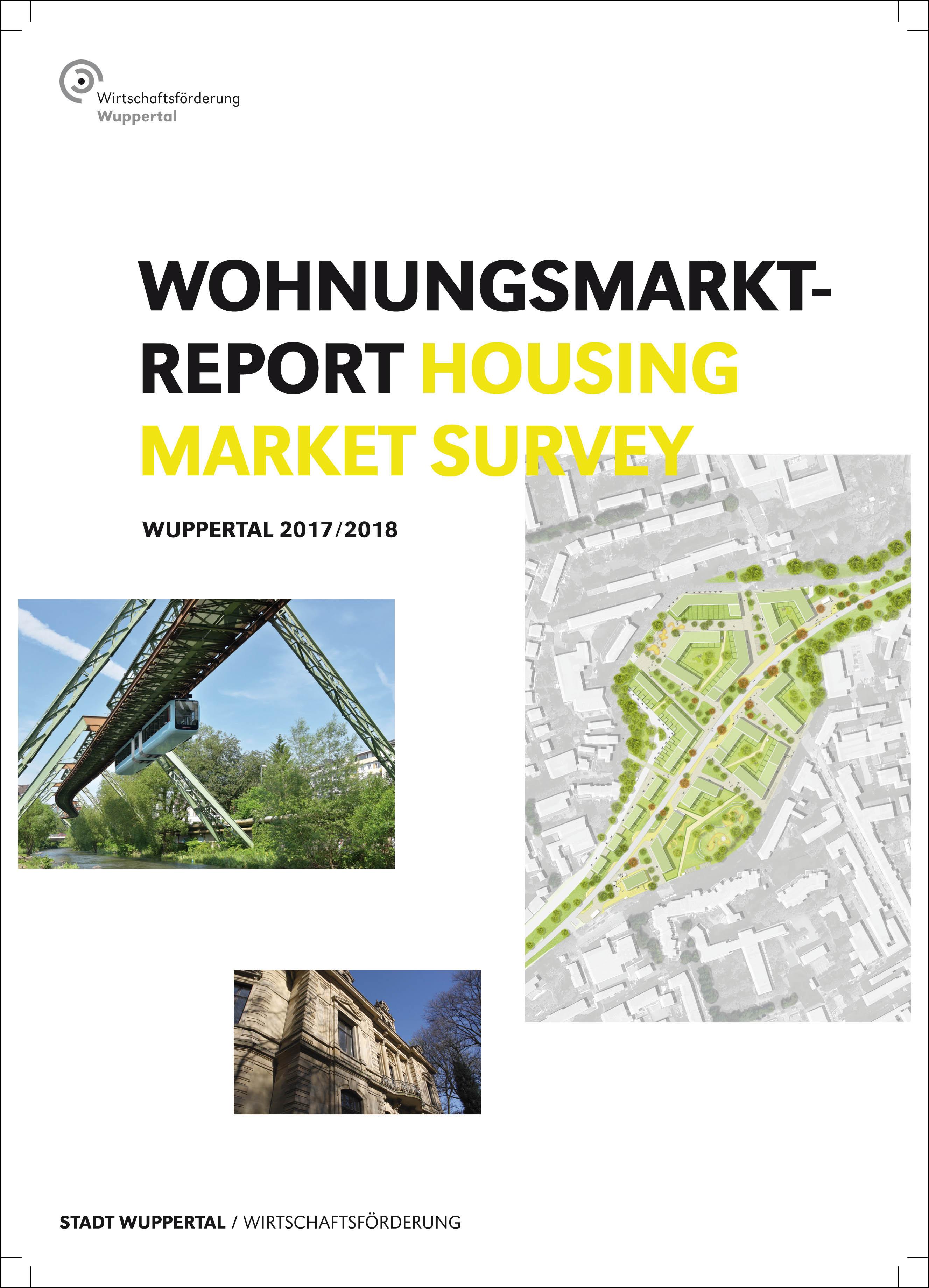 Deckblatt Heubruch Wohnungsmarktreport2017