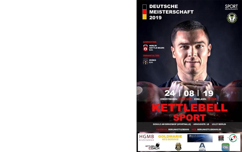 Deutsche Kettlebell-Meisterschaft 2019 In Berlin