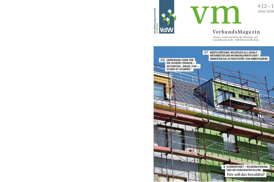 VdW Verbandsmagazin#12 1 Deckblatt 928x617px
